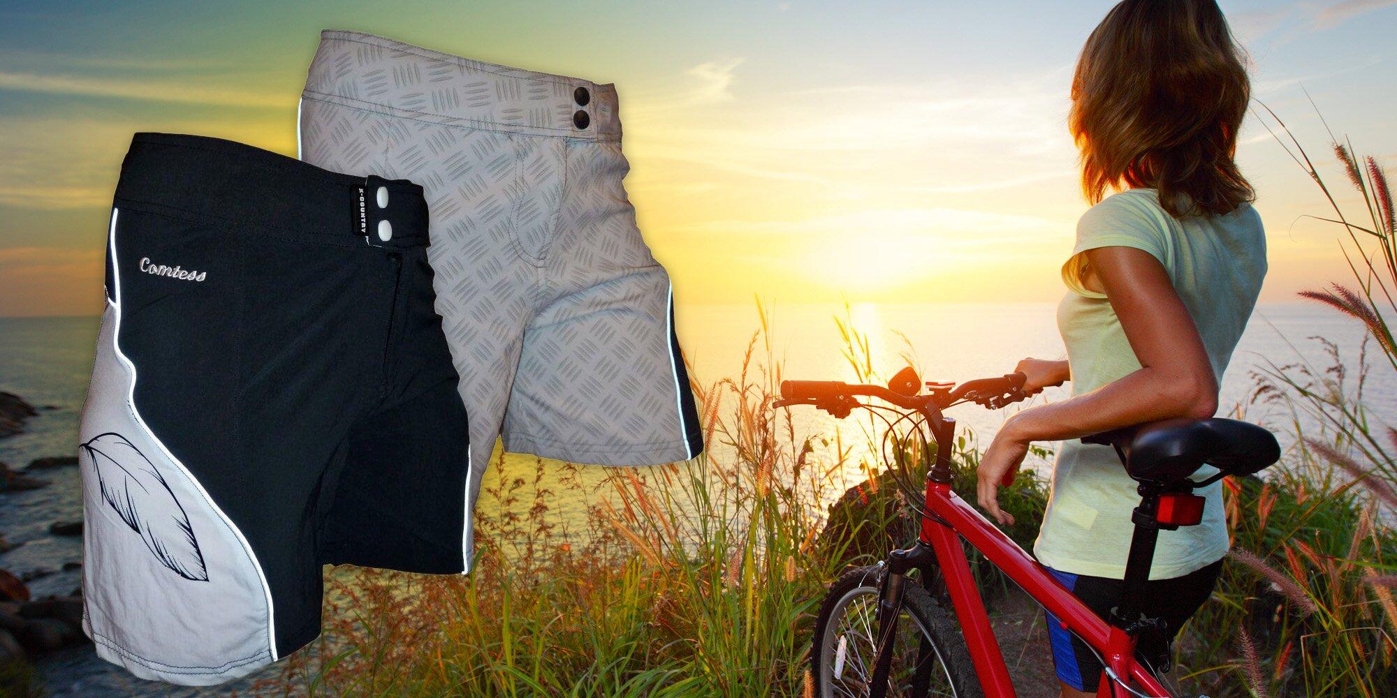 Dámské cyklistické kraťasy a cyklogatě Haven  1d5e07d934