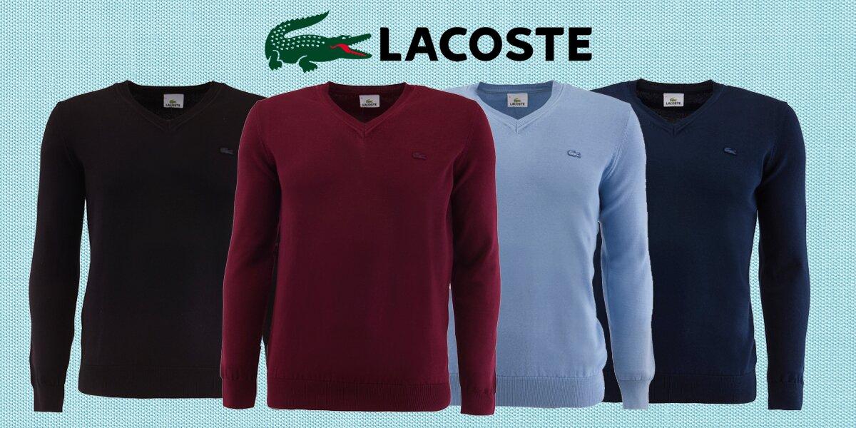 34a0887cd9 Elegantní pánské svetry značky Lacoste