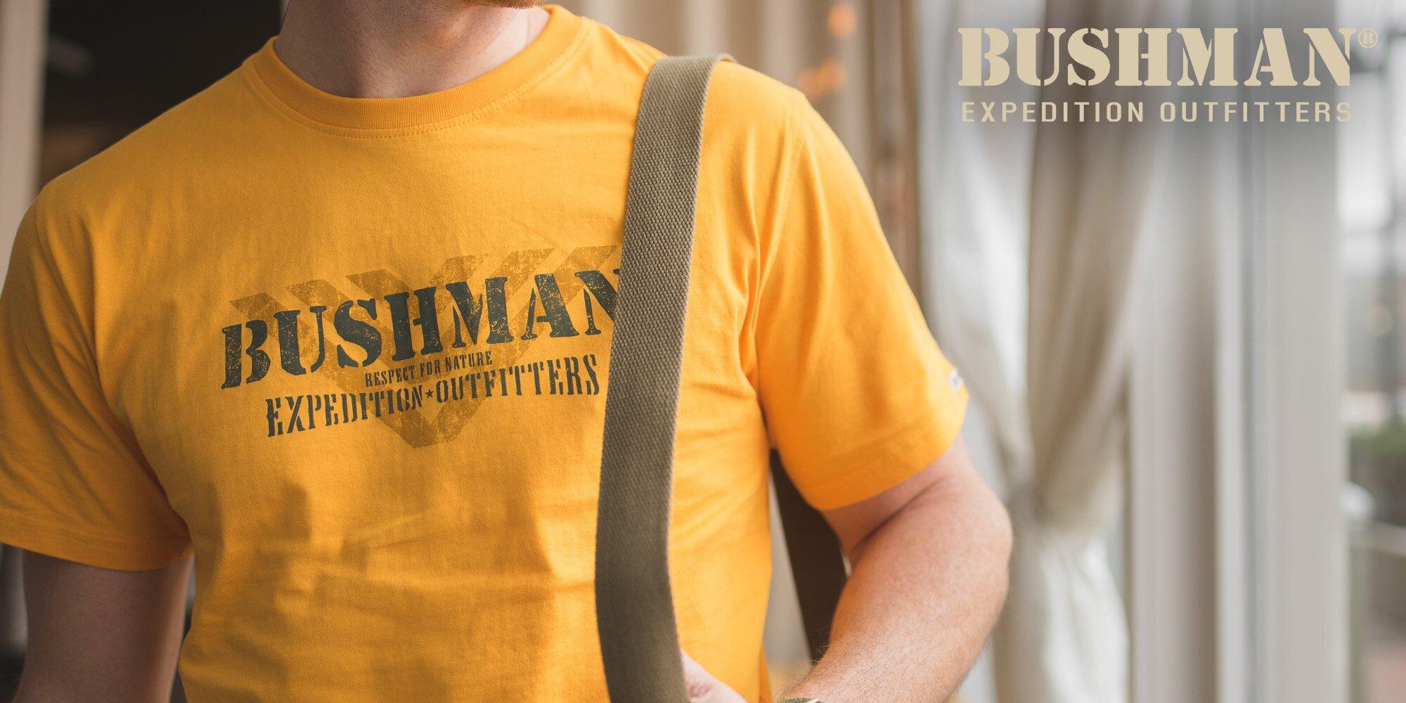 Kvalitní pánská trička Bushman ze 100% bavlny  5d2467593e