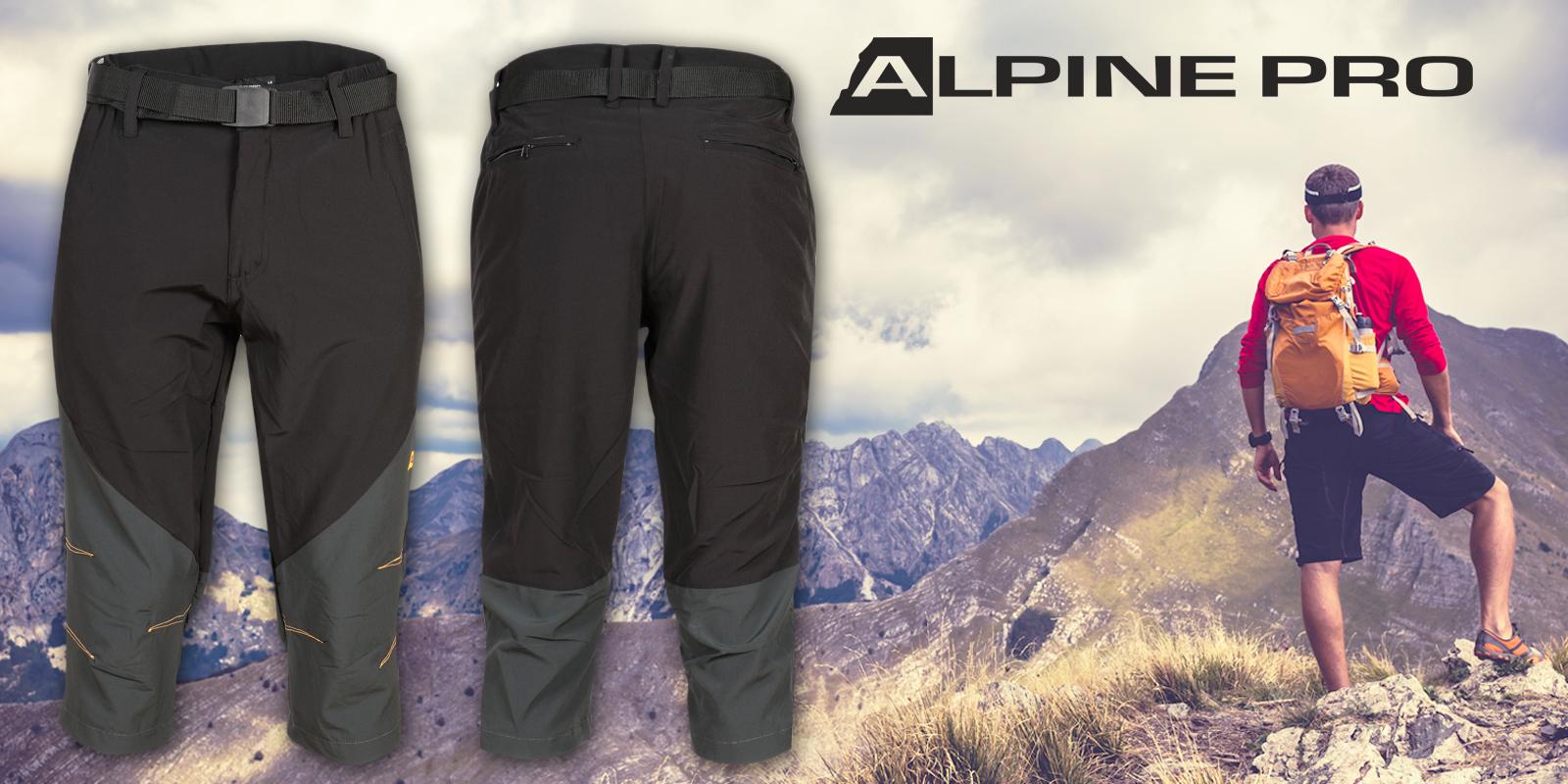 fba192050f9 Pánské letní 3 4 kalhoty Alpine Pro