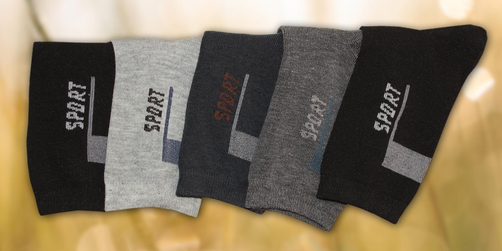 Pohodlné 100% bavlněné ponožky  bddcf55f63