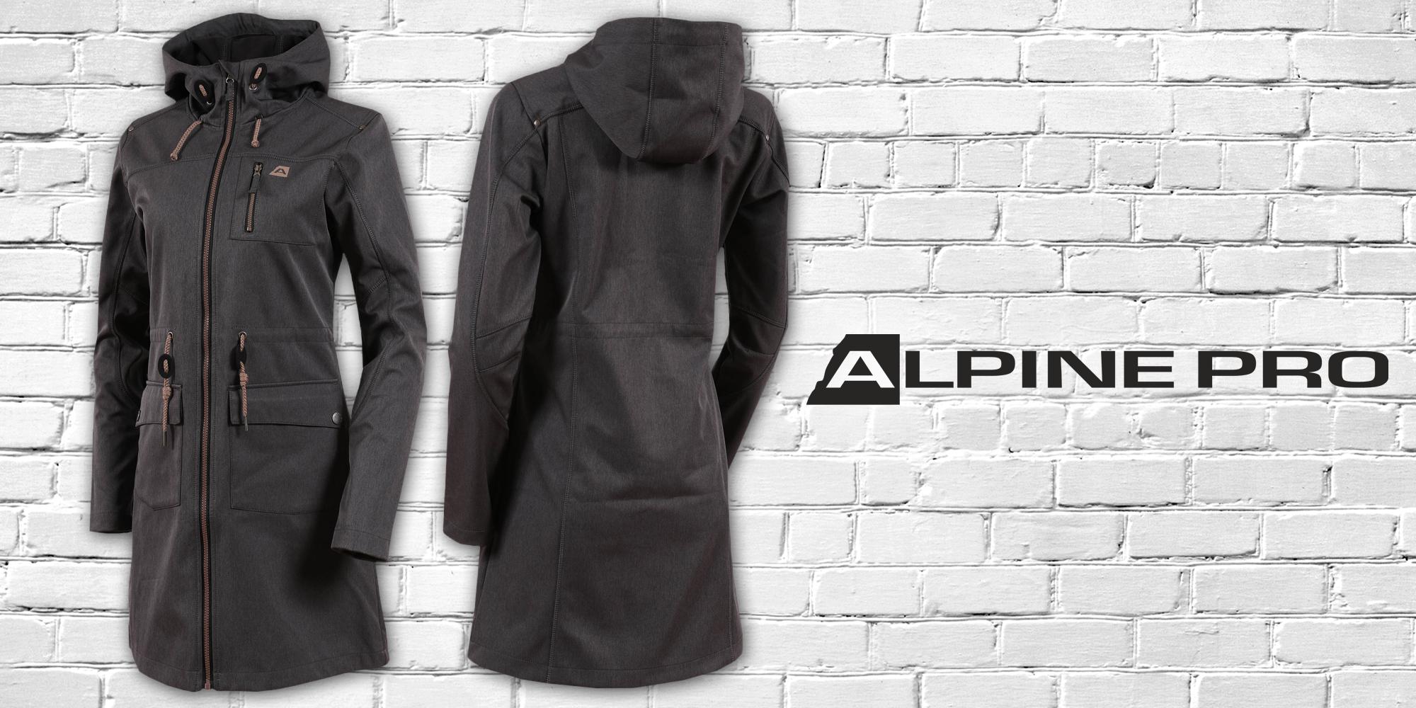 672aa39cb75d Dámský softshellový kabát Alpine Pro