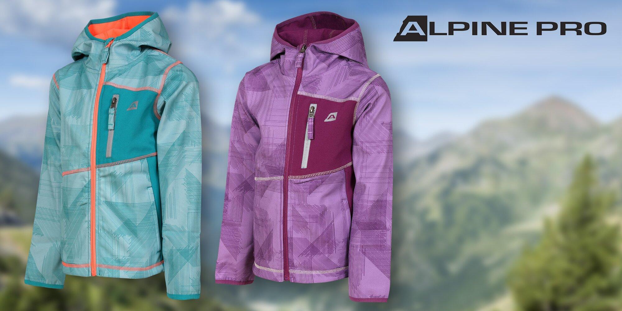 Dětské softshellové bundy Alpine Pro  301c25f862