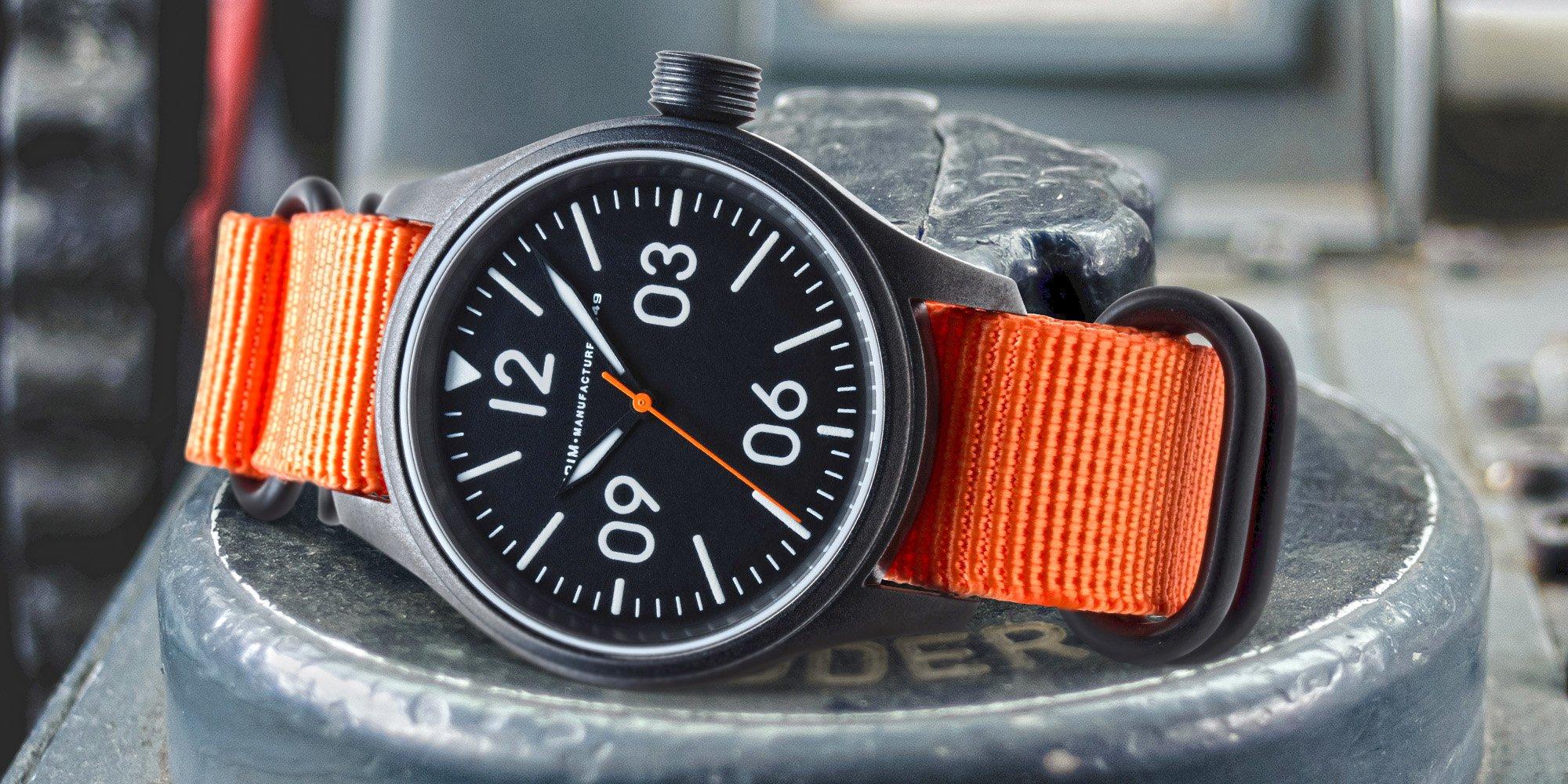 Originální české luxusní hodinky Prim Pilot  364e5e41f2