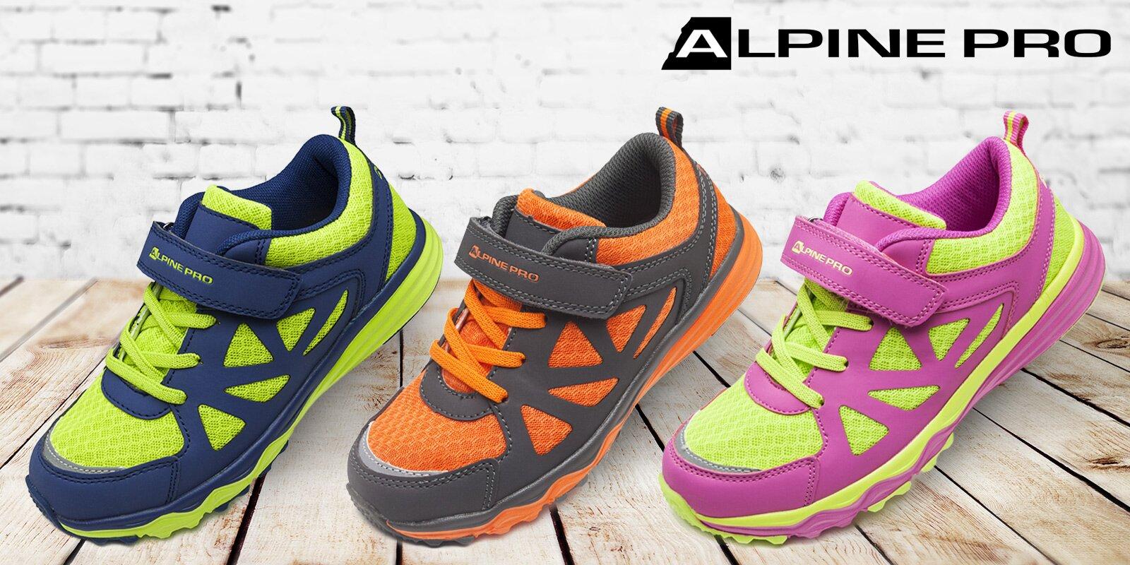 25248630a7f Dětské sportovní boty Alpine Pro na každý výlet