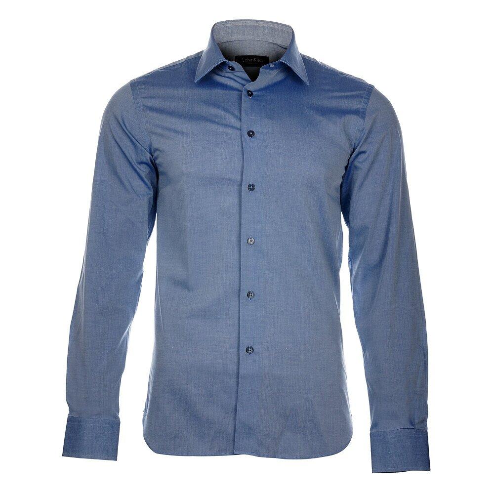 Pánská modrošedá košile Calvin Klein  7de1a3367a