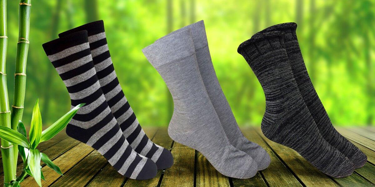 Velký výběr bambusových ponožek  d1bc6e23e0