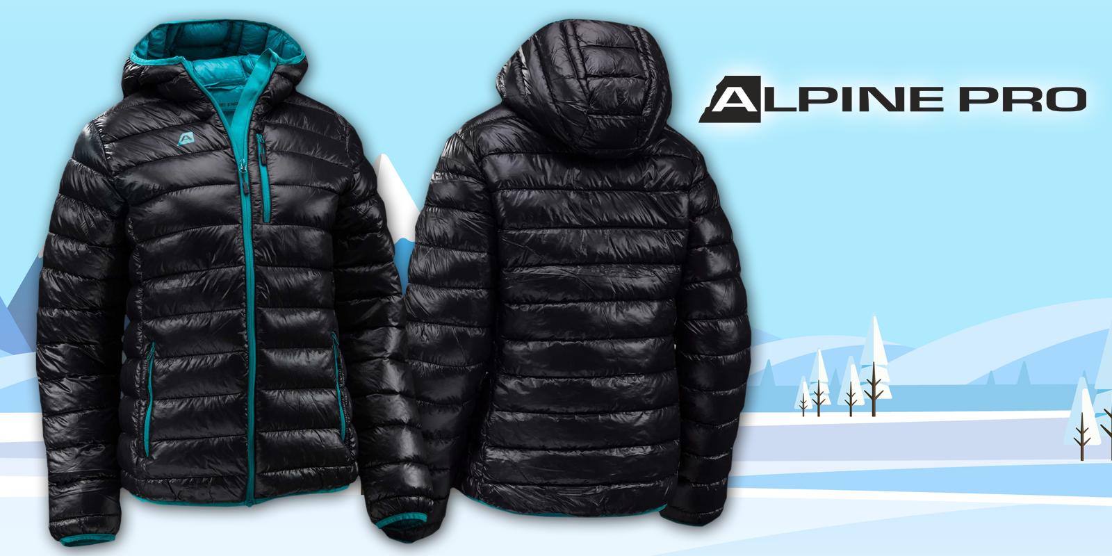 Dámská zimní bunda Alpine Pro  637123d9e4