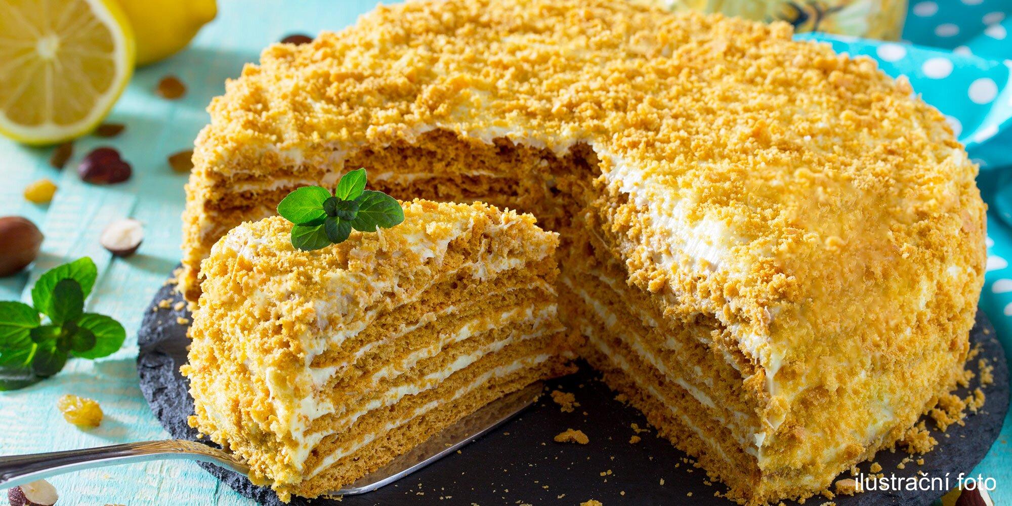 Самый простой торт рецепт