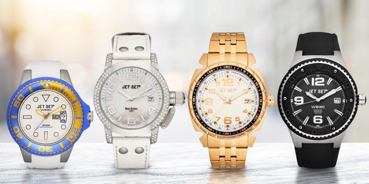 04d97d95751 Dámské a pánské hodinky Jet Set