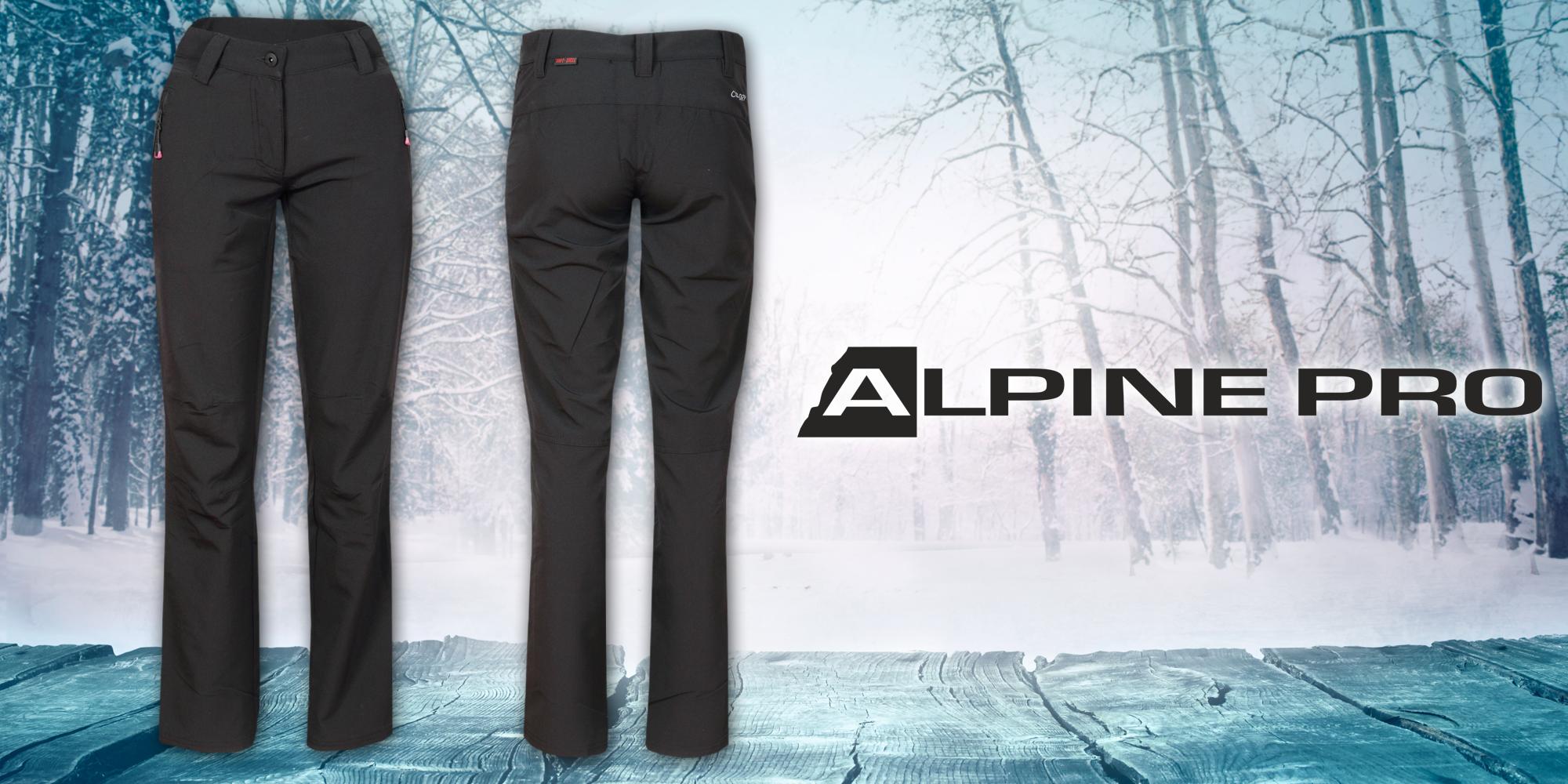 Dámské softshellové kalhoty Alpine Pro  3378a43045f