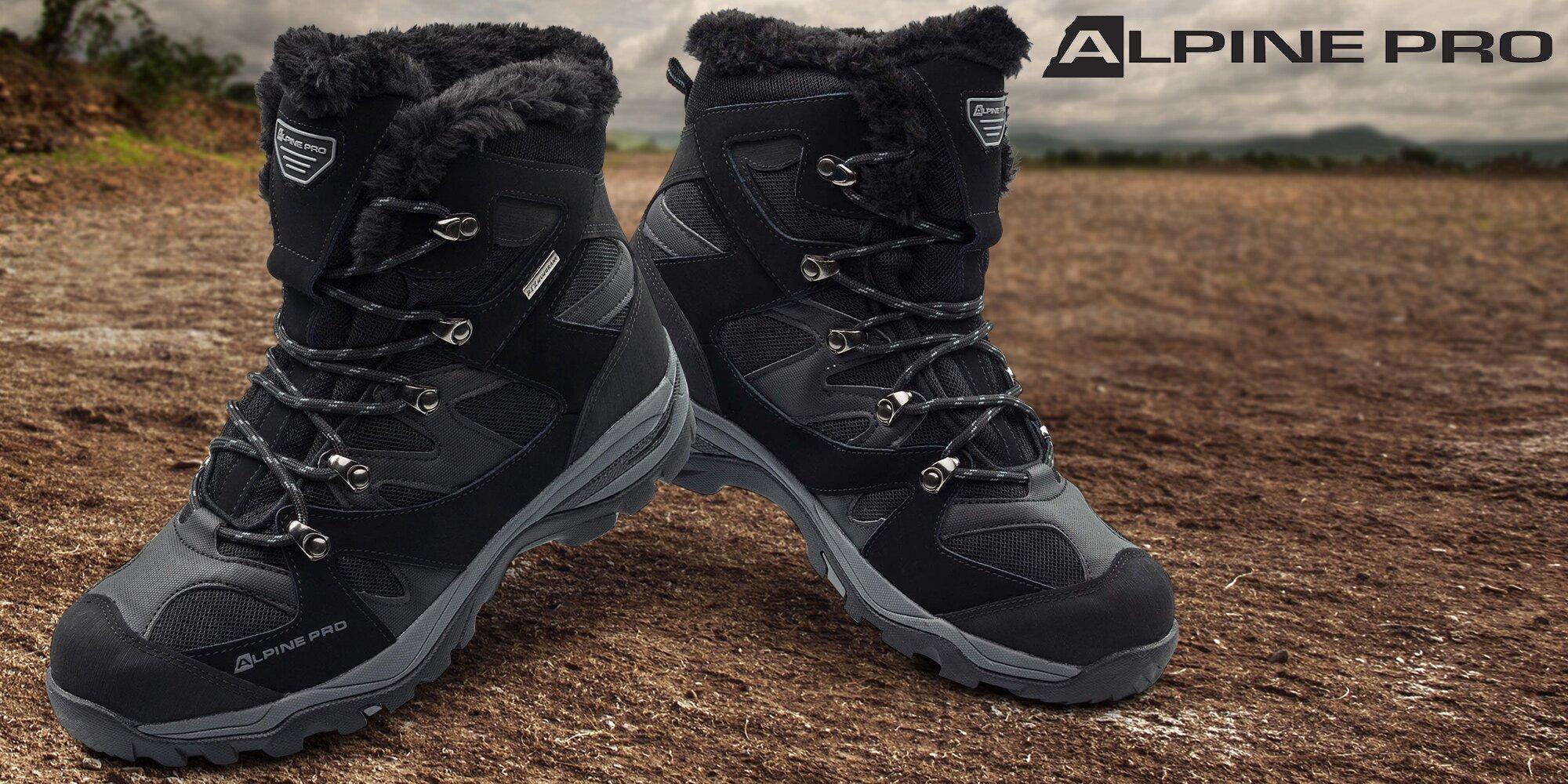 d43c20132a Pánská zimní obuv Alpine Pro do sněhu i mrazu