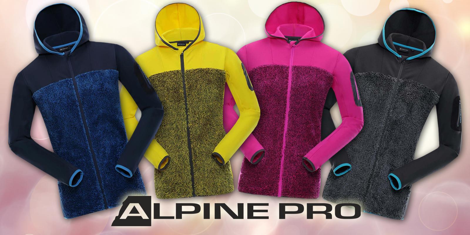 Dámské hřejivé mikiny Alpine Pro  3c64dbd644