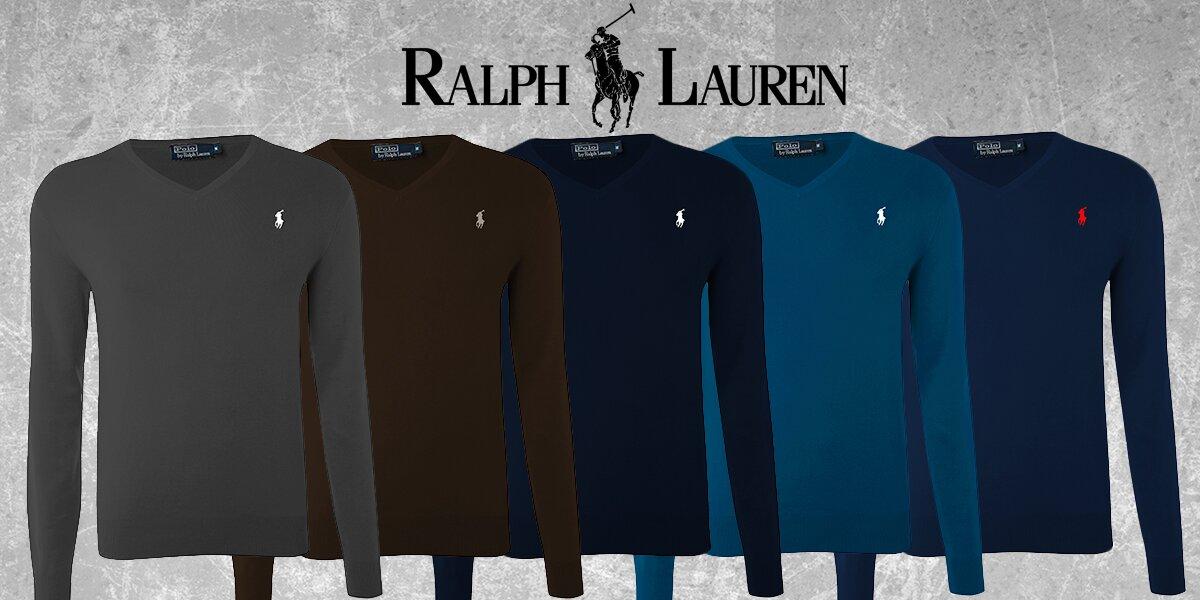 e17d9fd274 Pánské elegantní svetry Ralph Lauren
