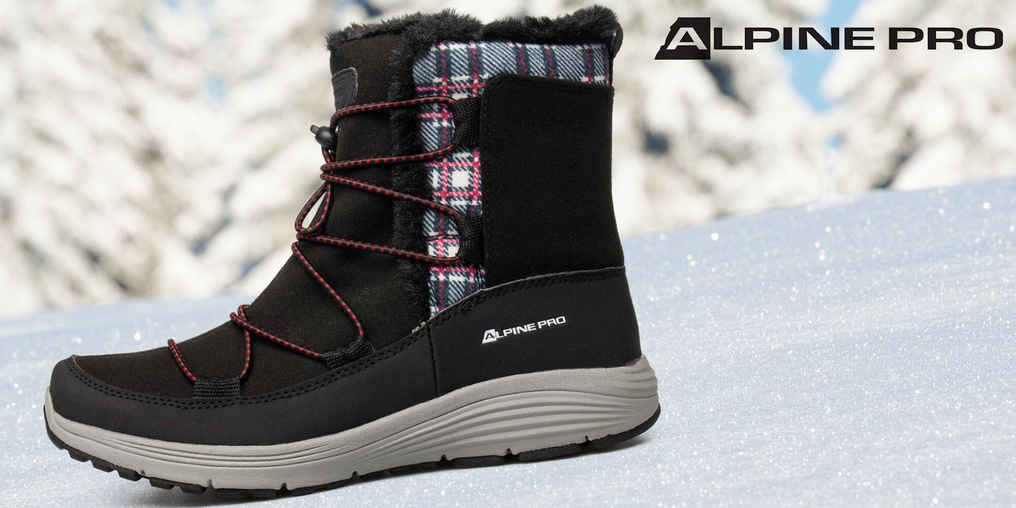 0a4ec0d5374d Dámské zimní boty Alpine Pro s kožíškem