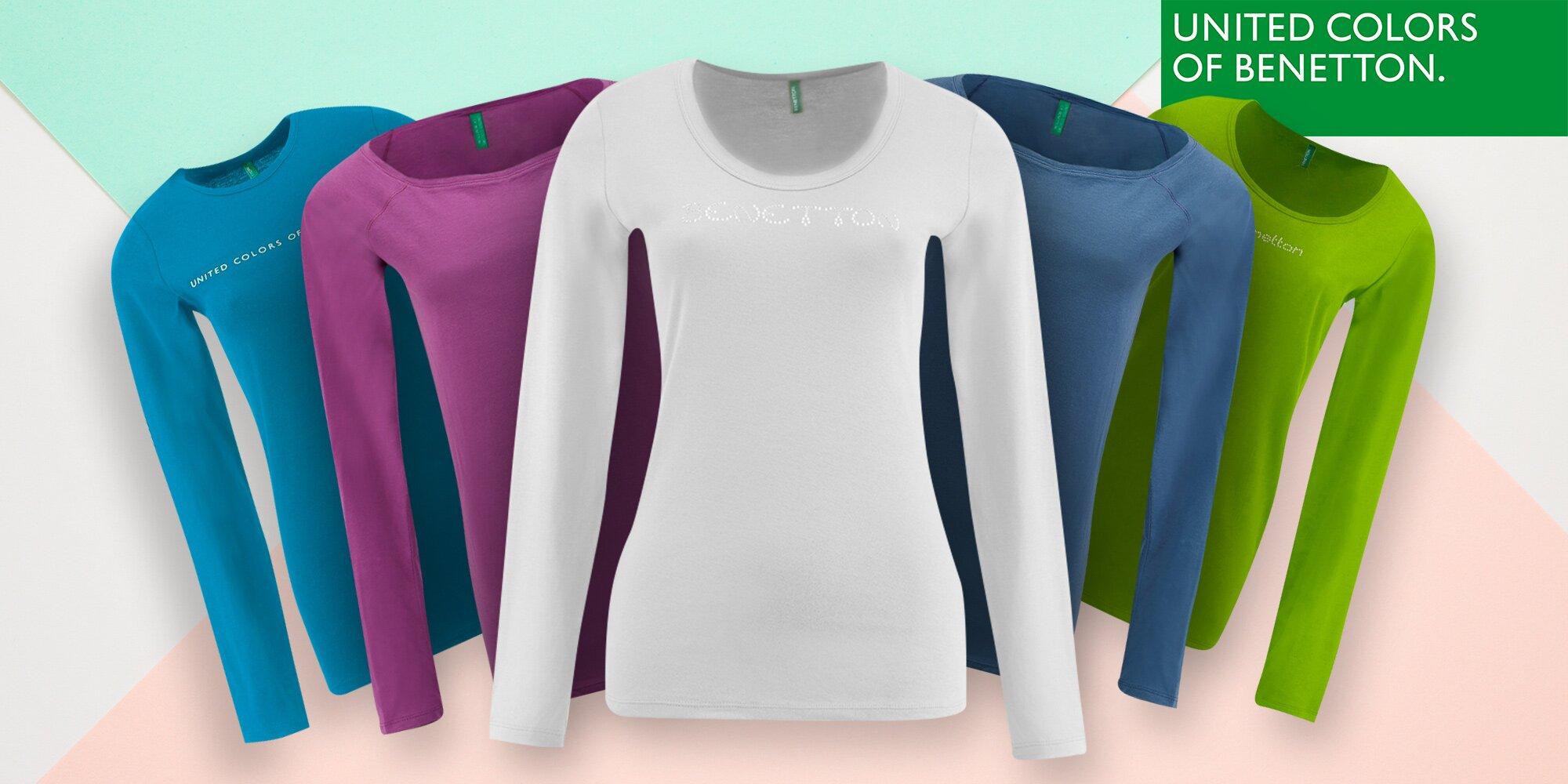 8aca0768c3 Dámské trička United Colors of Benetton