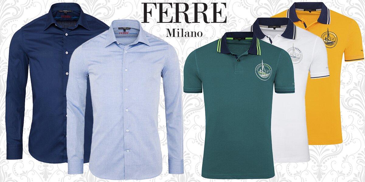 ff6411110ab Pánské oblečení italského návrháře Ferre