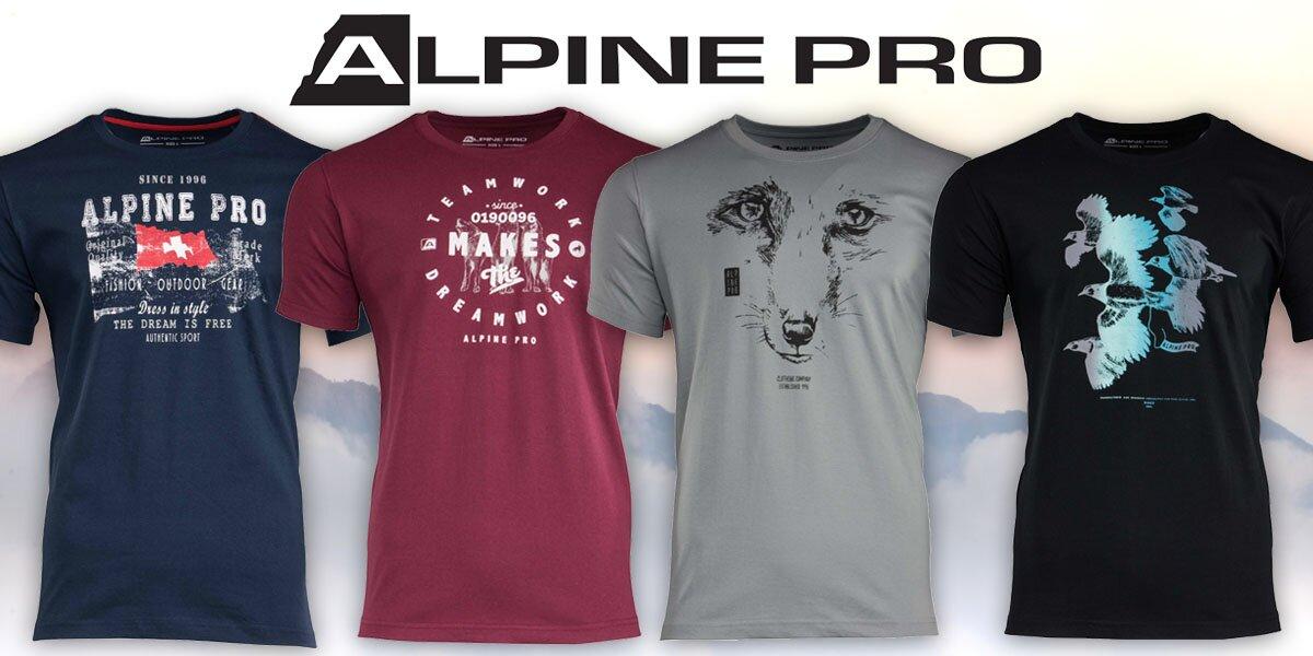 Pánská bavlněná trička Alpine Pro  46886ccfad