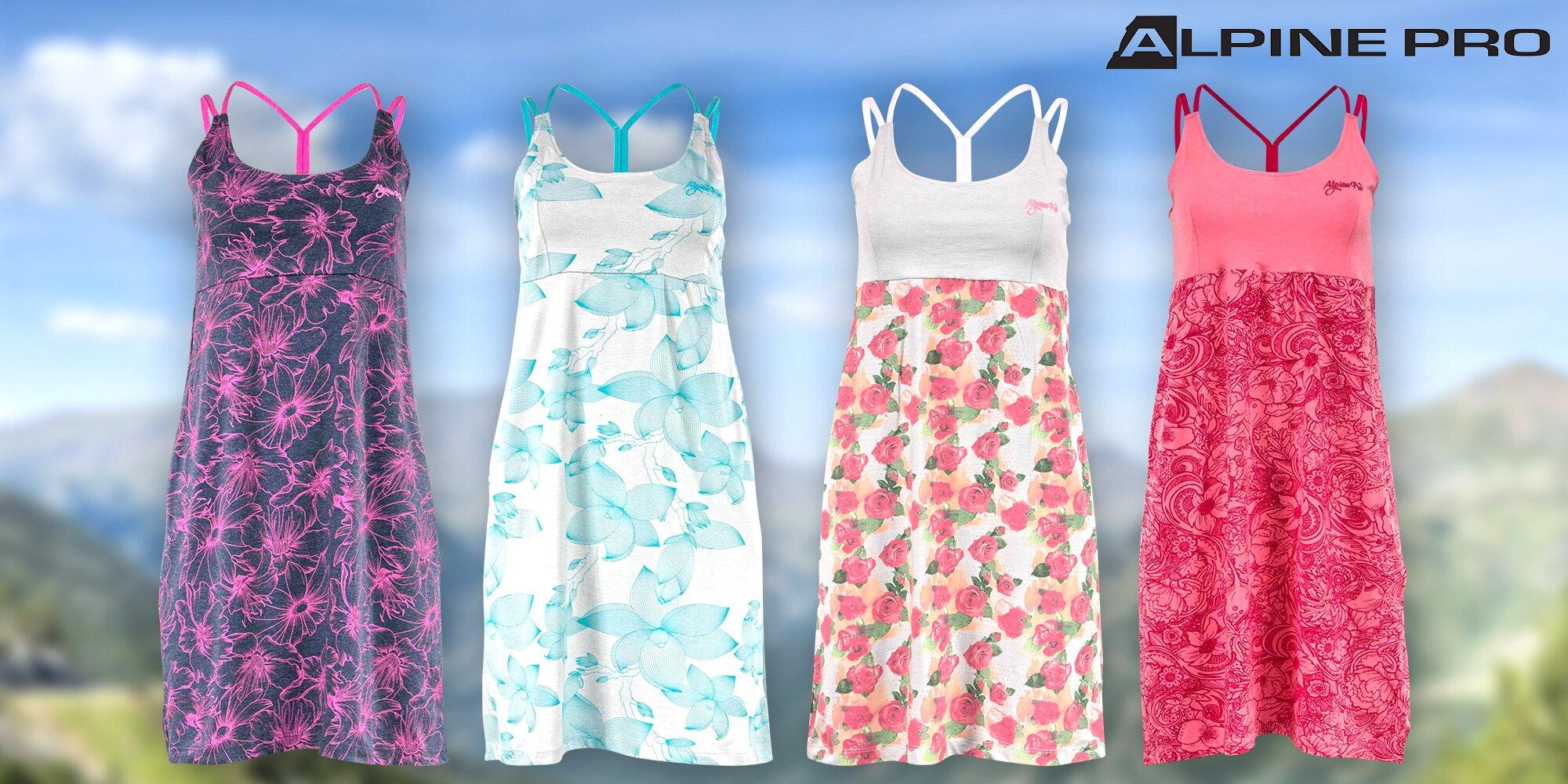364d54e883e8 Dámské šaty Alpine Pro