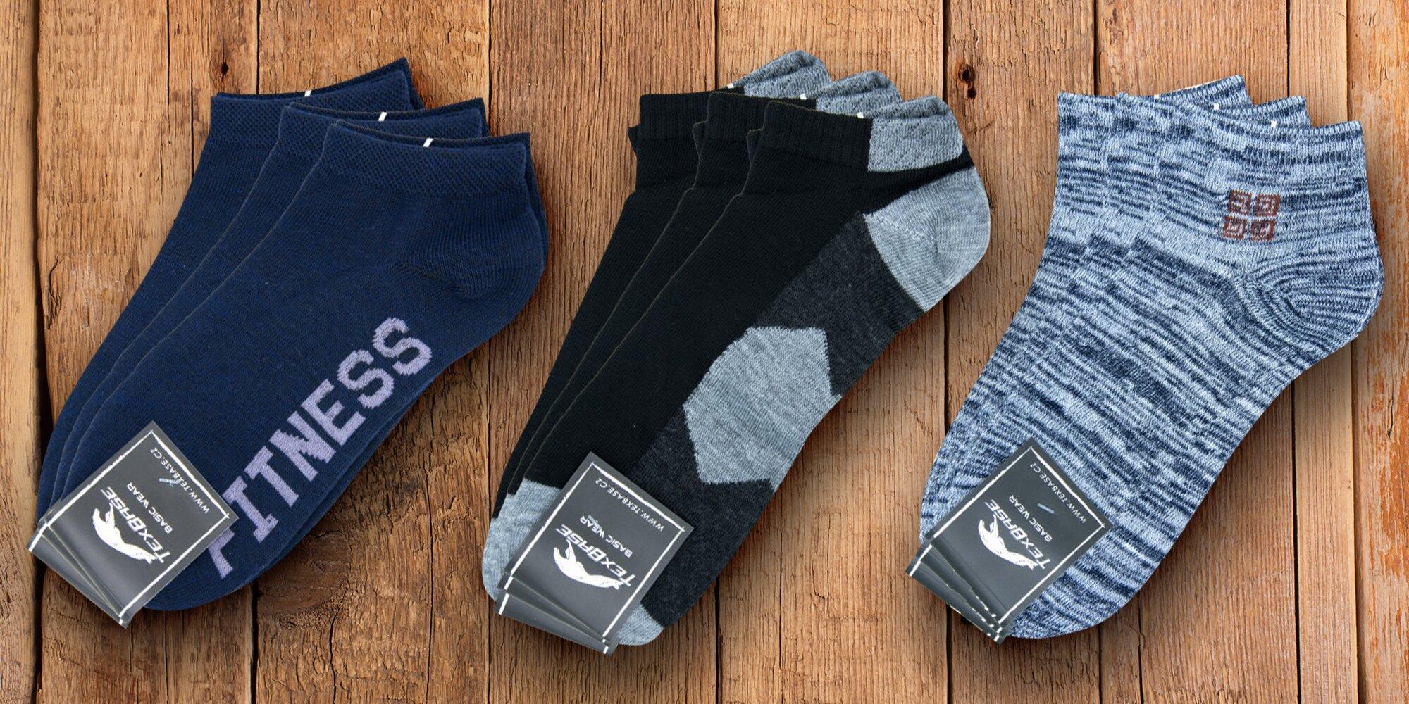 Pánské a dámské ponožky TexBase  732f6cfb9e