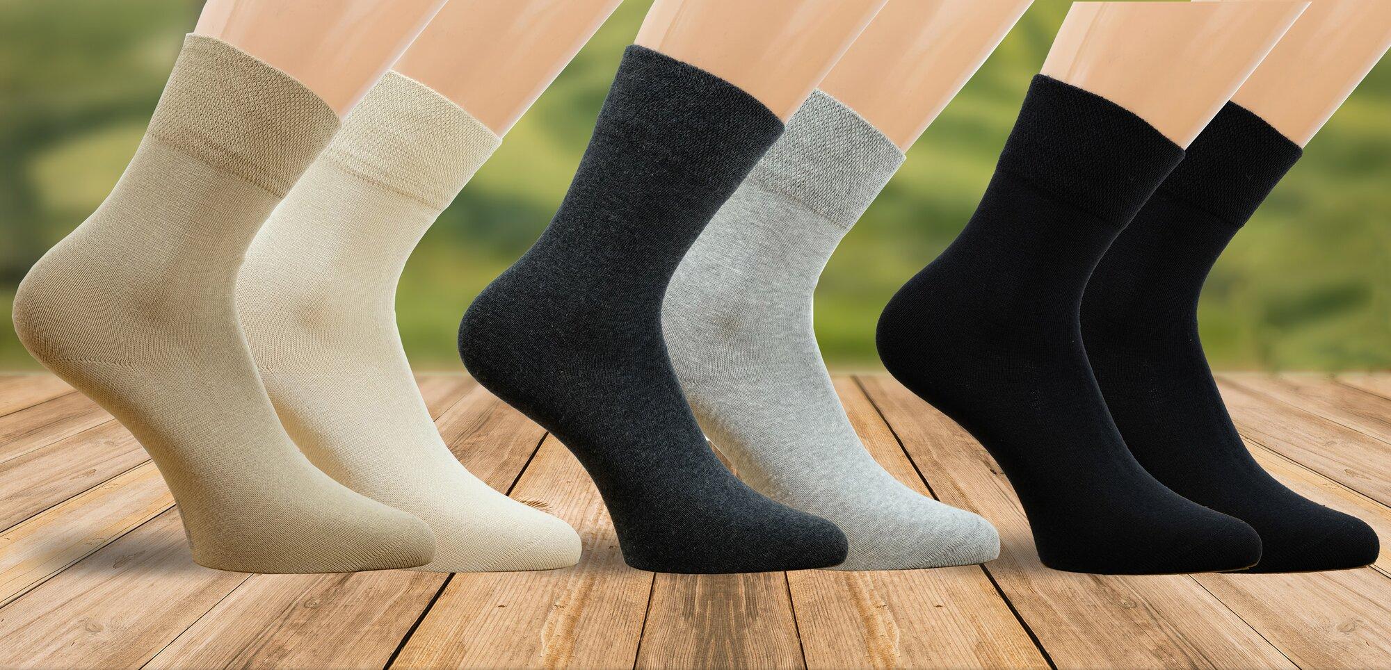 Bio unisex ponožky ve 3 variantách  92e1d4eaa7