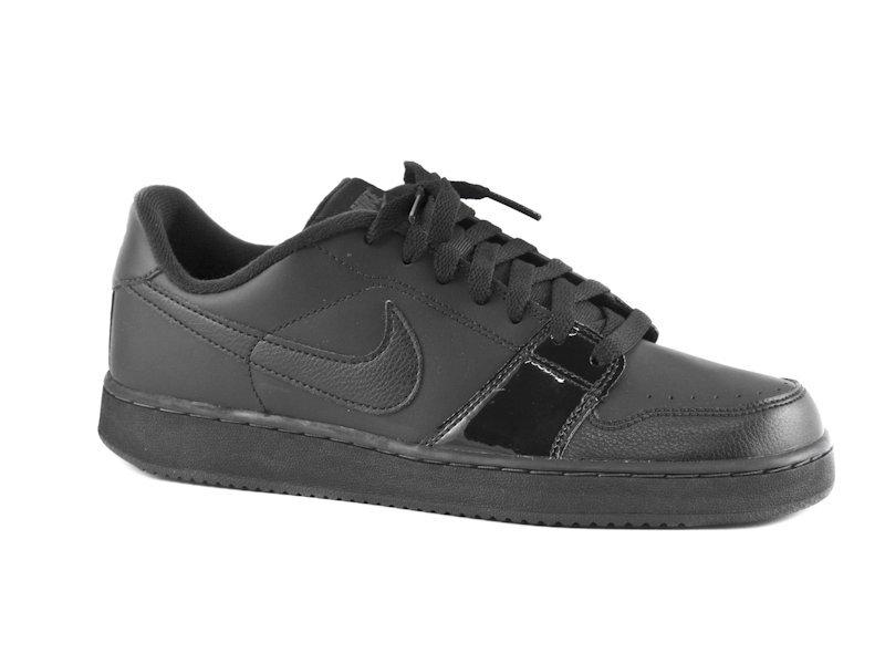 458b7047777 Dámské černé kožené tenisky Nike