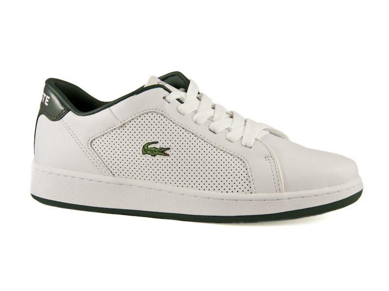 fc37c7199eb Bílo-zelené tenisky Lacoste Carnaby CLS PF