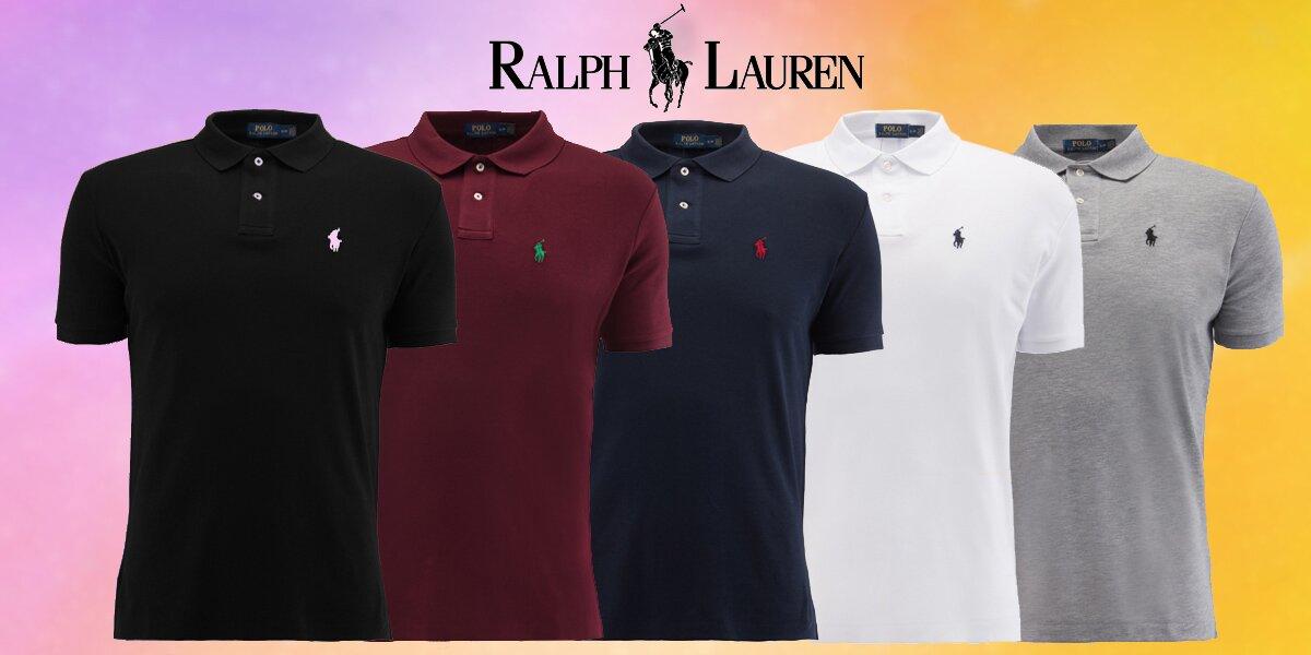 32ff015fad Pánské bavlněné polokošile Ralph Lauren