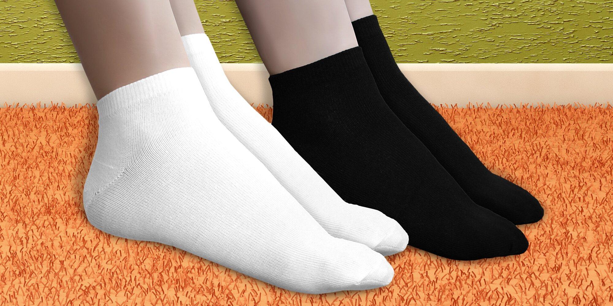 177479a6622 15 párů pohodlných bambusových ponožek