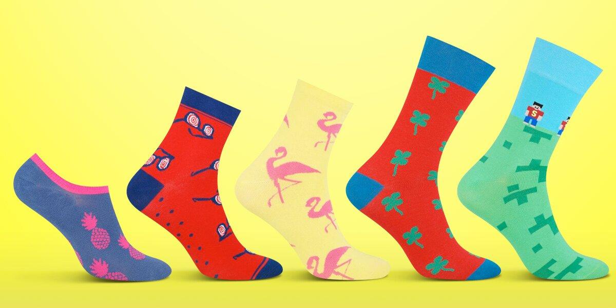 Pánské a dámské designové ponožky  1acf910ee4