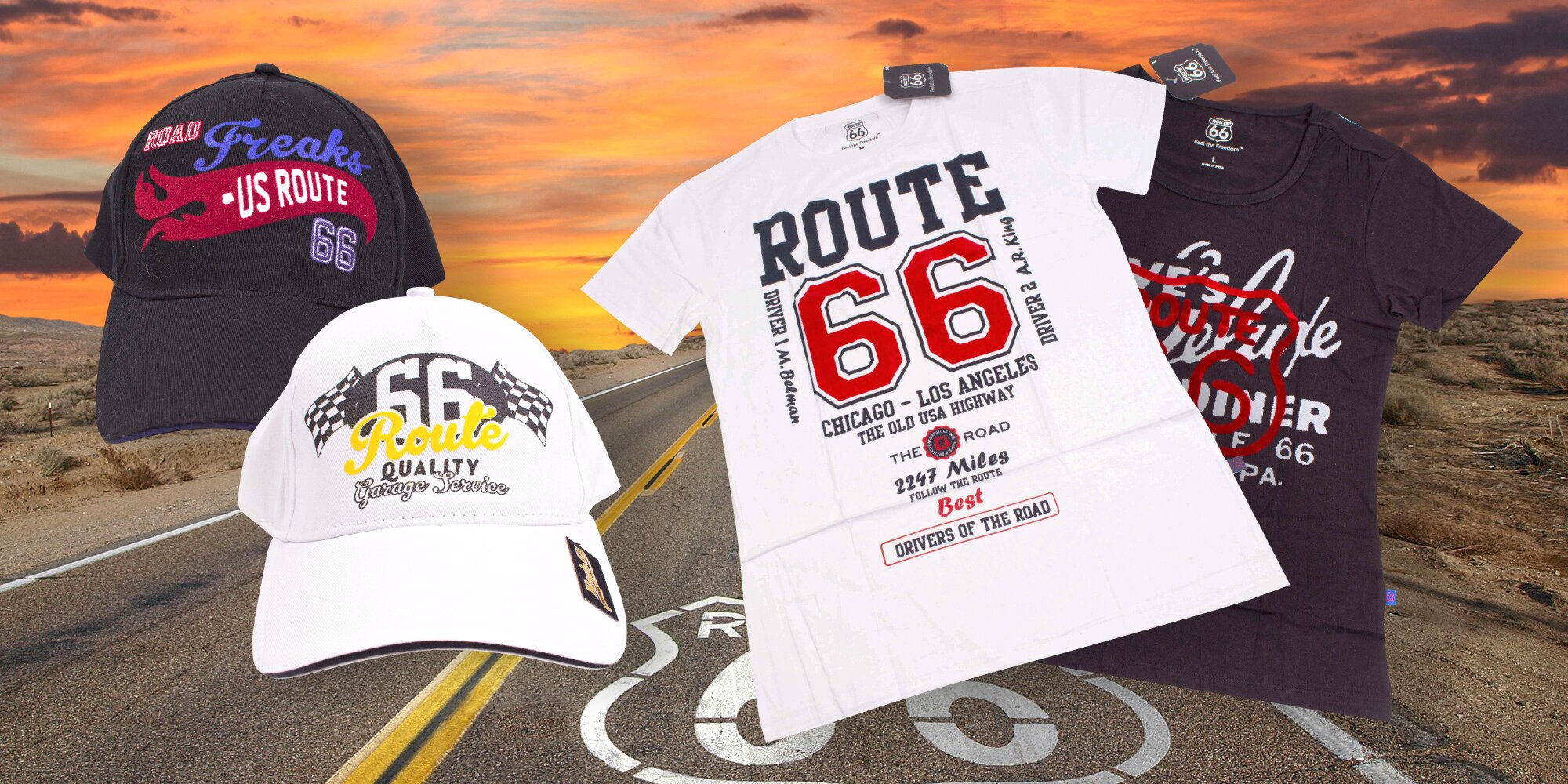 41a5b7c75e0 Dámská i pánská trička a kšiltovky Route 66