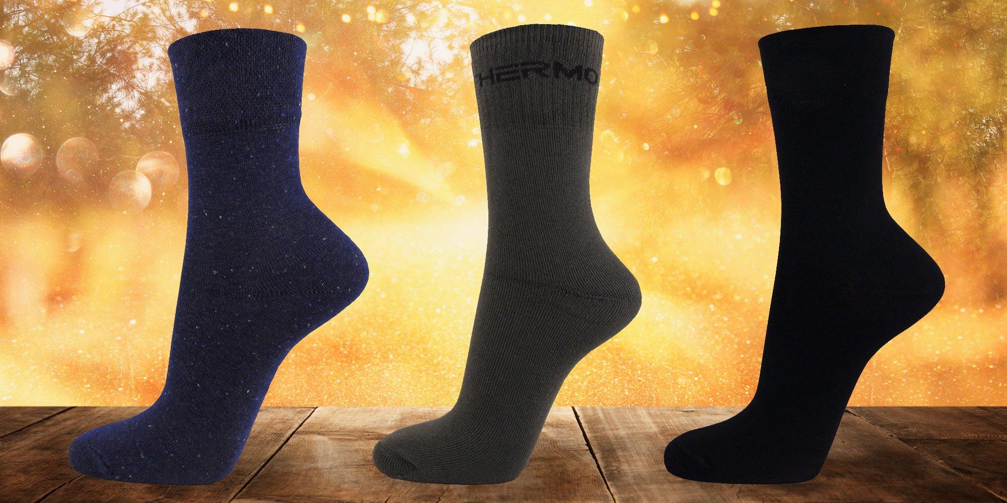 Kvalitní bavlněné nebo vlněné ponožky Moravec  410f6703c5