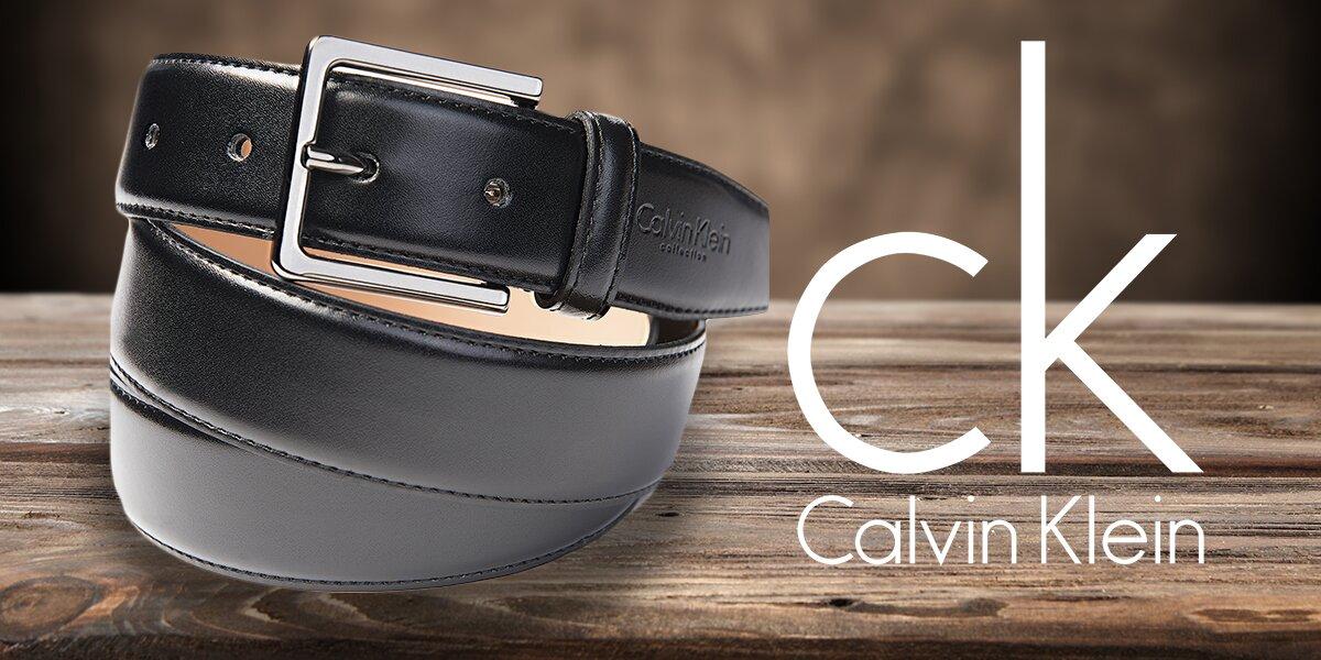 0c511acc3b Luxusní pánské kožené opasky Calvin Klein