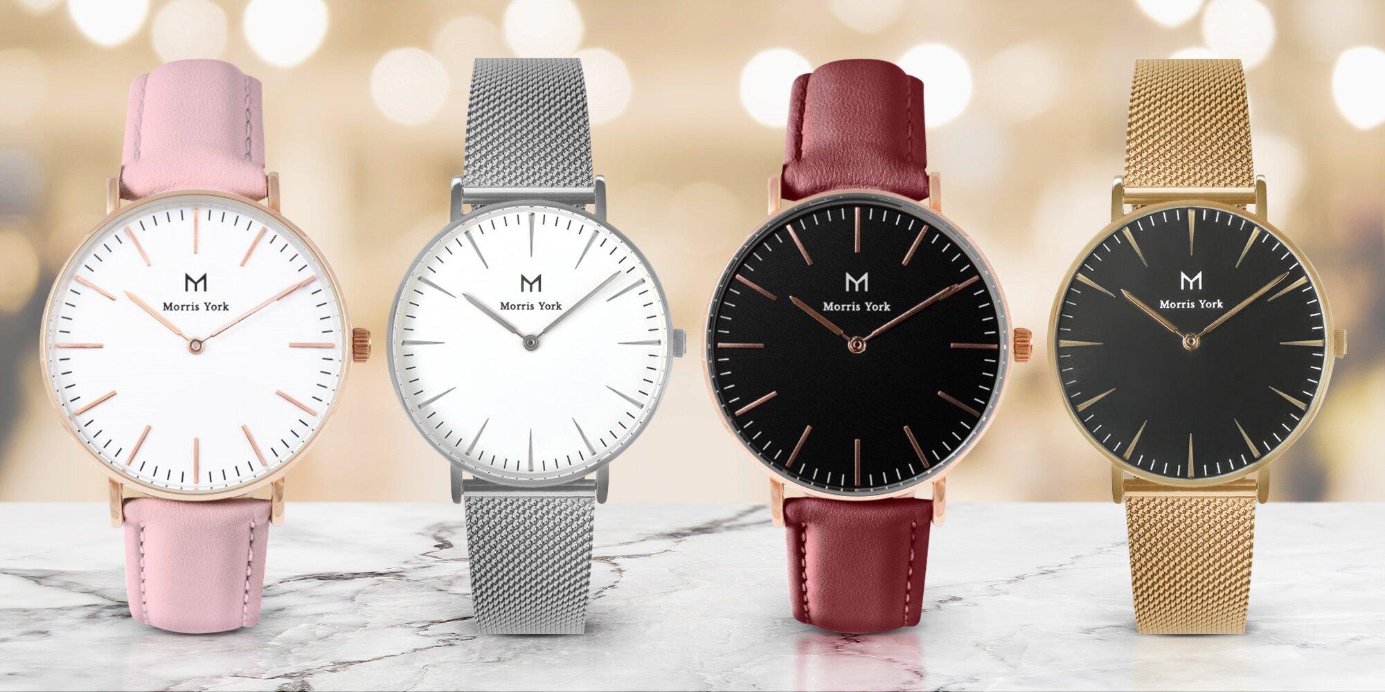 Elegantní dámské hodinky Morris York  05759214e3