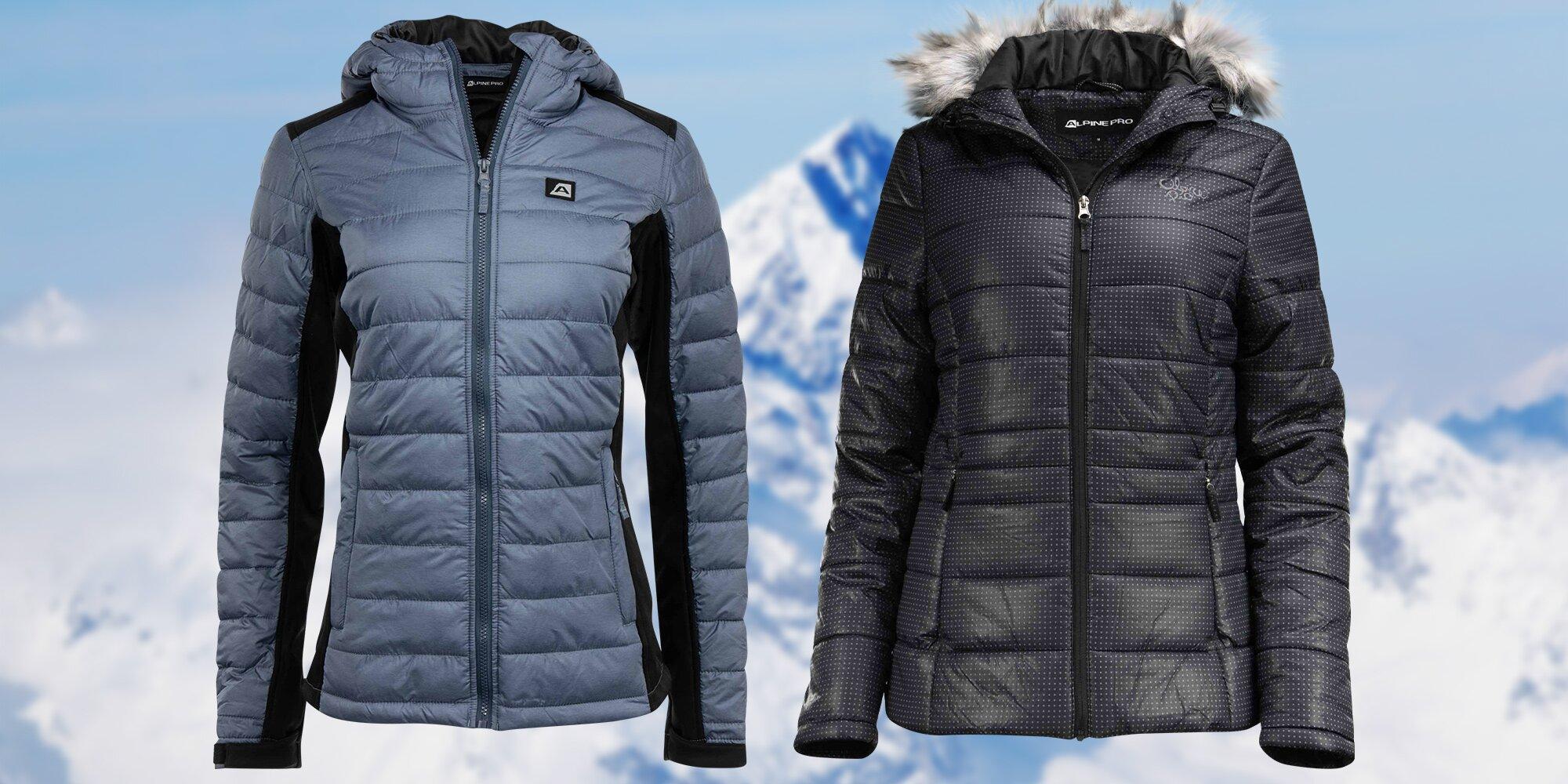 6459d61f78e Dámské bundy Alpine Pro  modrá i černá