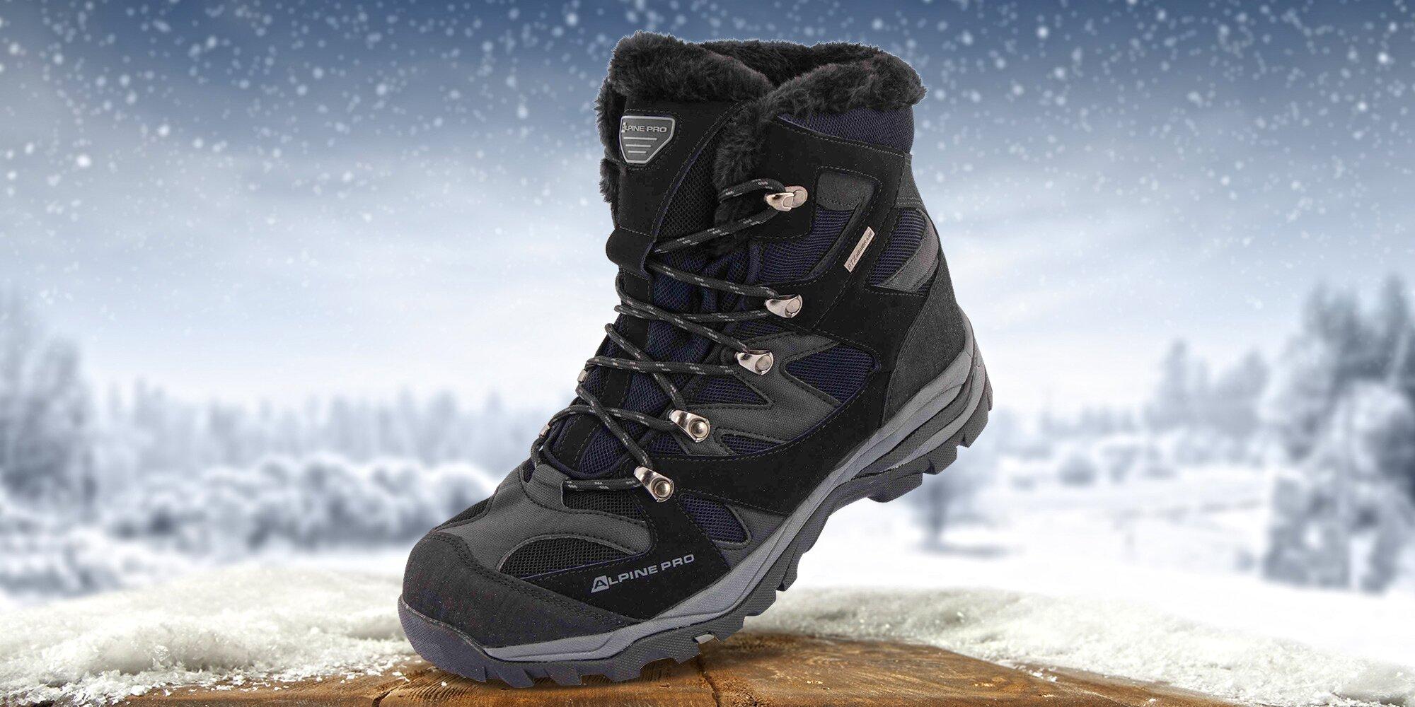 cb34062b6dcf Pánské zimní pohorky Alpine Pro se zateplením