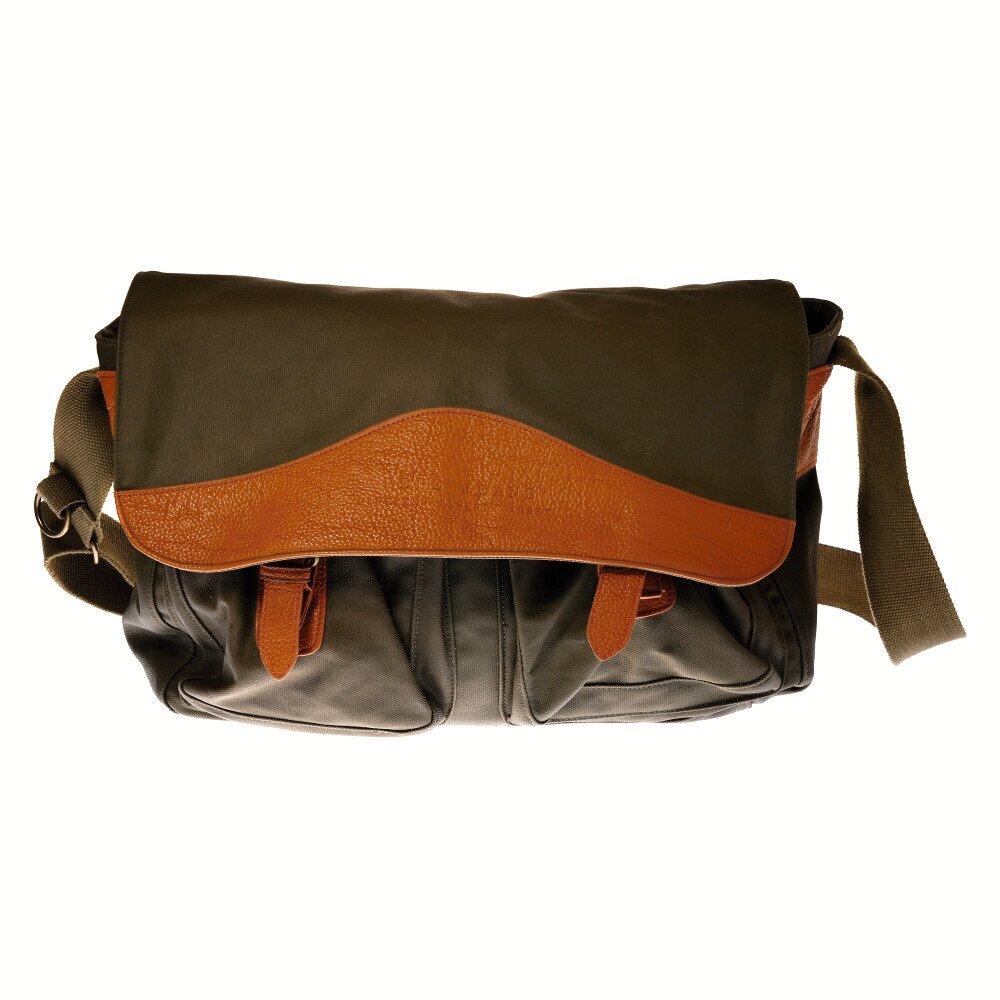 e674b1a4869 Pánská tmavě zelená taška přes rameno Pepe Jeans