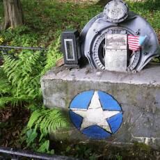 Památník válečných letců u Šanova