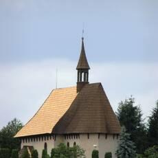 Kozojedy - dřevěný kostel sv. Václava