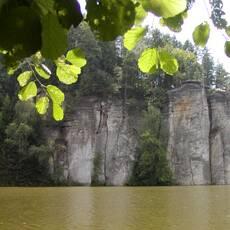 Věžické údolí - rybník Věžák