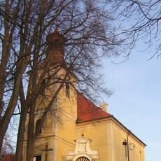 Slovanské hradiště a kostel sv. Vincence v Doudlebech