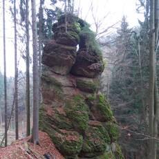 Skalní věž Baba