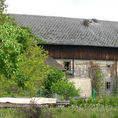 Boharyně – roubený mlýn