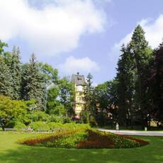 Jiráskovy sady Hradec Králové