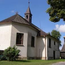 Měník – dřevěný kostel sv. Václava a Stanislava