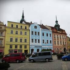 Náměstí Míru Jindřichův Hradec