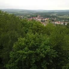 Rozhledna Bohušův (Šibeniční) vrch