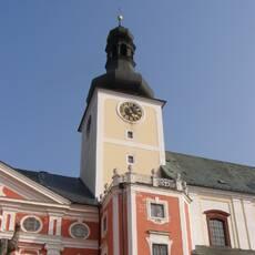Klášterní kostel sv. Vojtěcha v Broumově