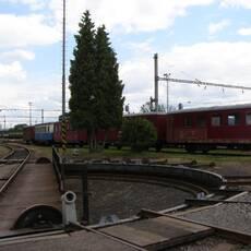 Jaroměř - železniční muzeum