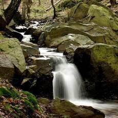 Vodopád Dírka